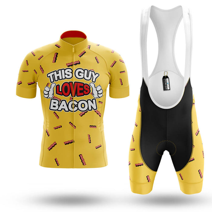 This Guy Loves Bacon   - Men's Cycling Kit - Global Cycling Gear
