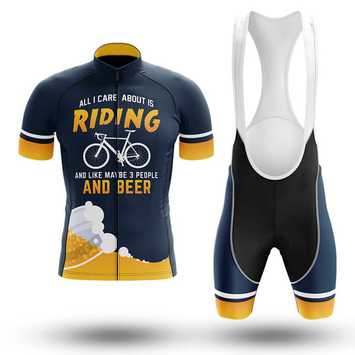 All I Care About Is Riding - Men's Cycling Kit - Global Cycling Gear