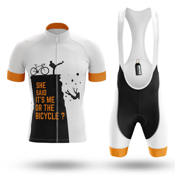It's Me Or The Bicycle? - Men's Cycling Kit - Global Cycling Gear