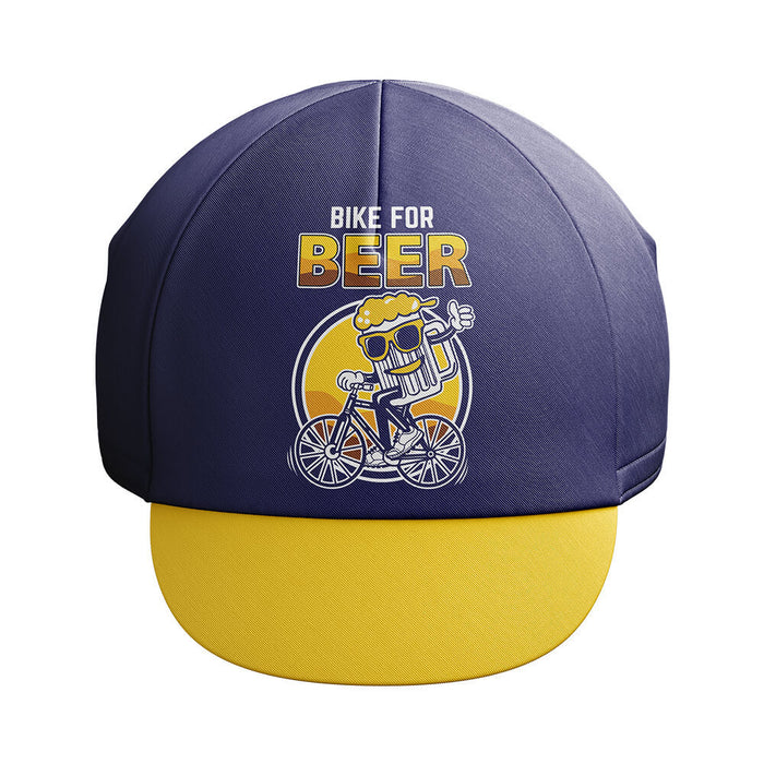 Bike For Beer Cycling Cap - Global Cycling Gear