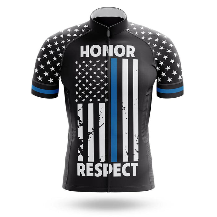 Thin Blue Line V2 - Men's Cycling Kit - Global Cycling Gear