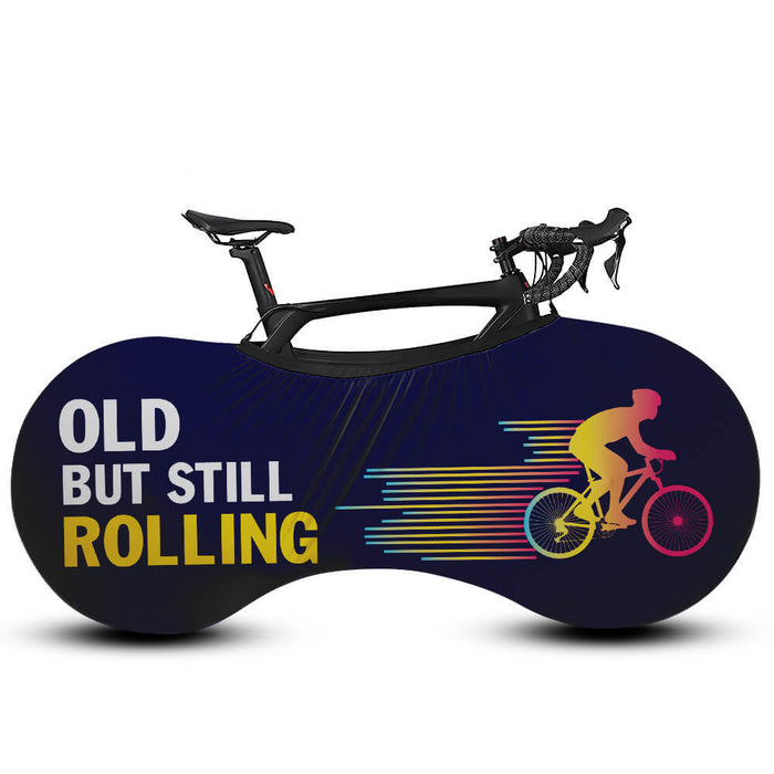 Old But Still Rolling - Bicycle Cover