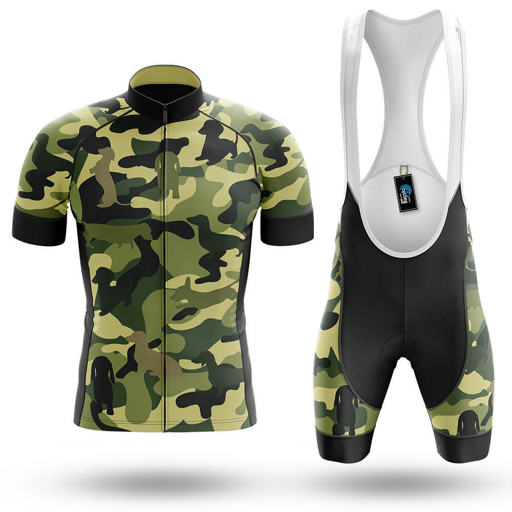 Camo dachshund - Men's Cycling Kit - Global Cycling Gear