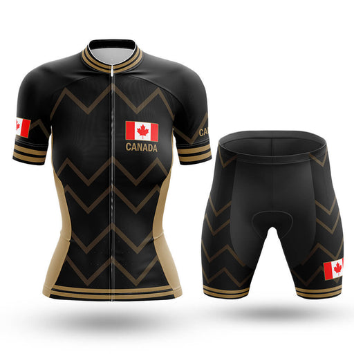 Canada - Women V17 - Cycling Kit - Global Cycling Gear