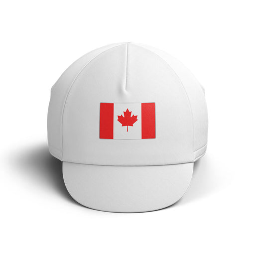 Canada Cycling Cap V4 - Global Cycling Gear