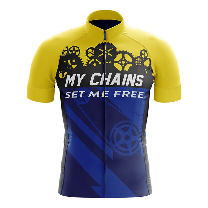 My Chains Set Me Free - Men's Cycling Kit - Global Cycling Gear