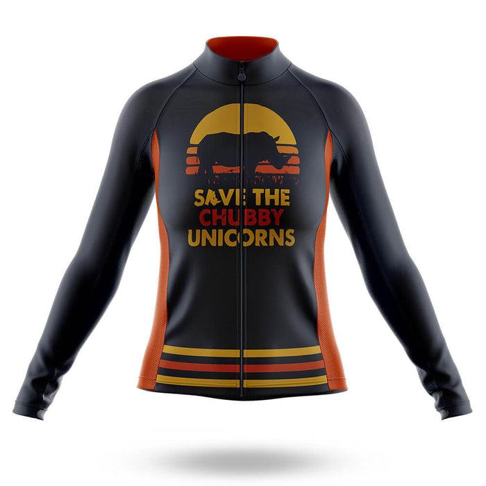 The Chubby Unicorns V4 - Women -  Long Sleeve Jersey