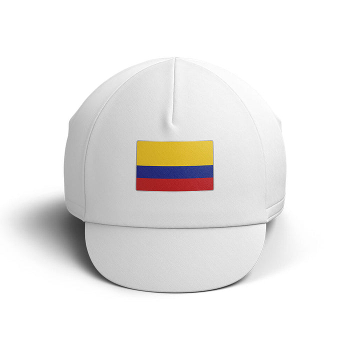 Colombia Cycling Cap V4 - Global Cycling Gear