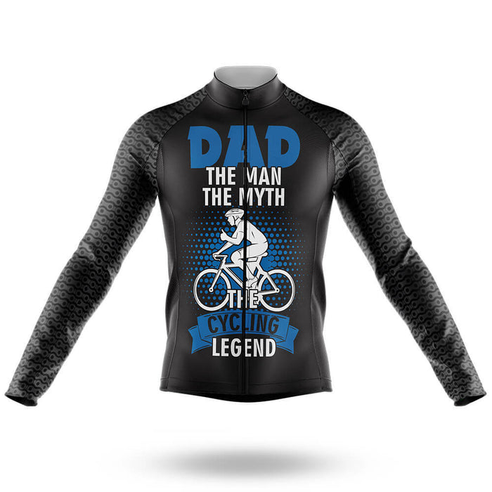 Dad The Cycling Legend   - Men's Cycling Kit - Global Cycling Gear