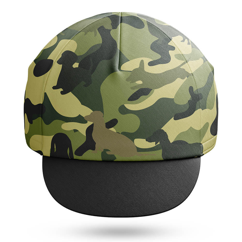 Camo Dachshund   Cycling Cap - Global Cycling Gear