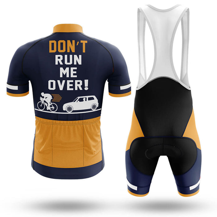 Don't Run Me Over V2 - Safety Men's Cycling Kit - Global Cycling Gear