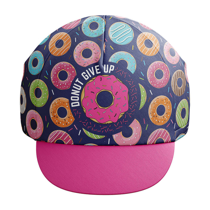 Donut Give Up Cycling Cap - Global Cycling Gear