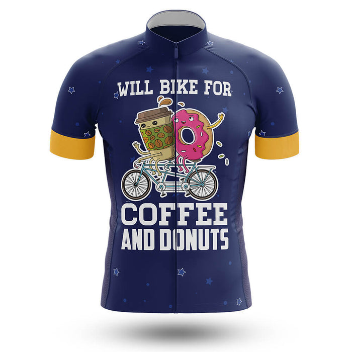 Bike For Coffee And Donuts - Men's Cycling Kit - Global Cycling Gear