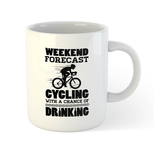 Weekend Forecast Mug - Global Cycling Gear