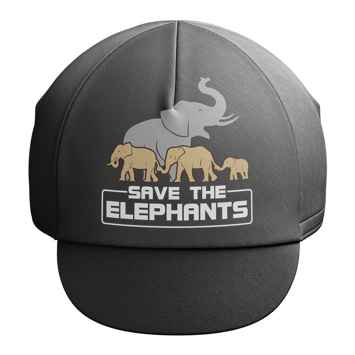 The Elephants - Cycling Cap - Global Cycling Gear