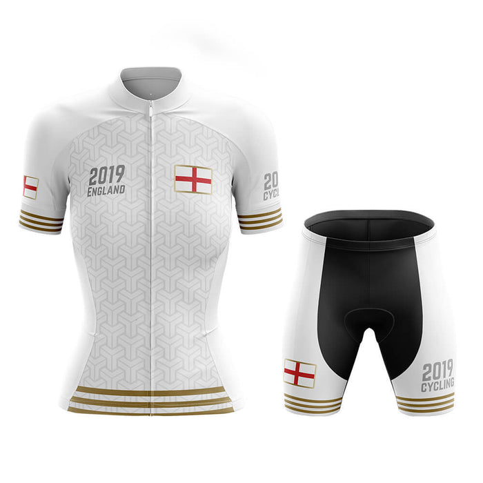 England - Women 2019 - Cycling Kit - Global Cycling Gear