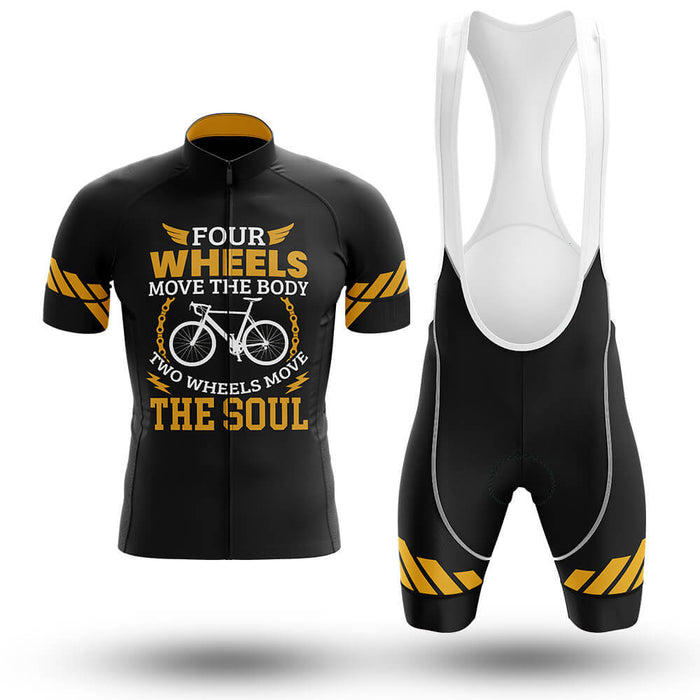 Two Wheels Move The Soul - Men's Cycling Kit - Global Cycling Gear