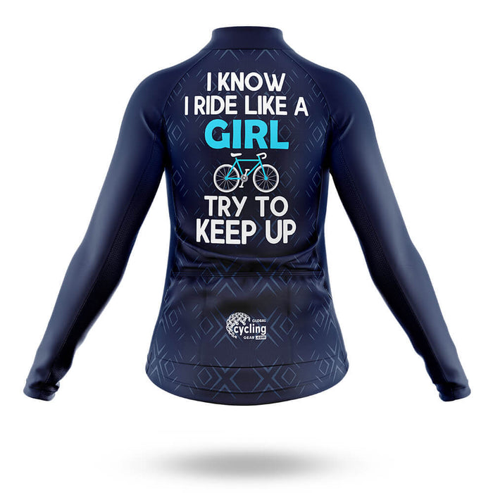 Like A Girl - Women's  Cycling Kit - Global Cycling Gear