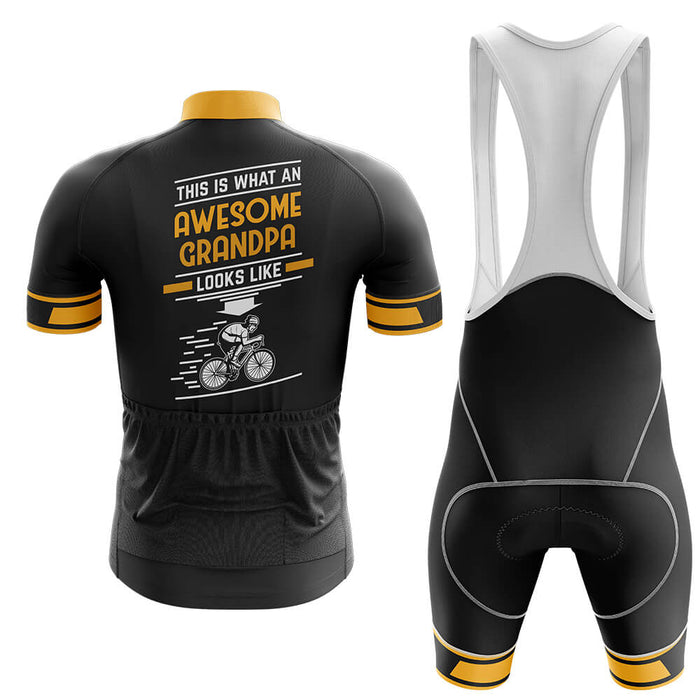 Awesome Grandpa - Men's Cycling Kit - Global Cycling Gear