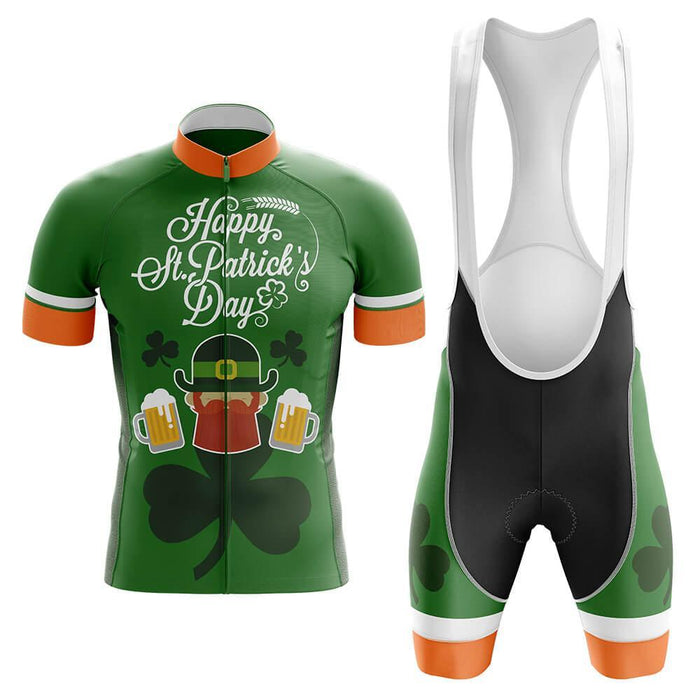 Happy St. Patrick's Day - Men's Cycling Kit - Global Cycling Gear