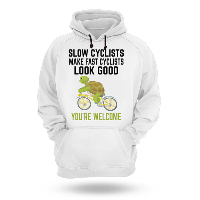 Slow Cyclist - Hoodie