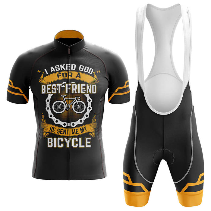 God Sent Me A Bicycle - Men's Cycling Kit - Global Cycling Gear