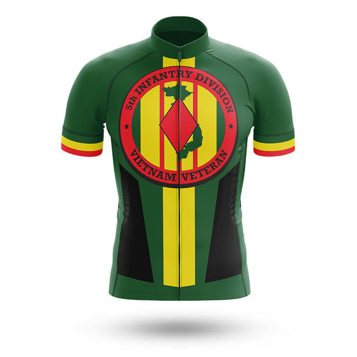 5th Infantry Division Vietnam Veteran - Men's Cycling Kit - Global Cycling Gear