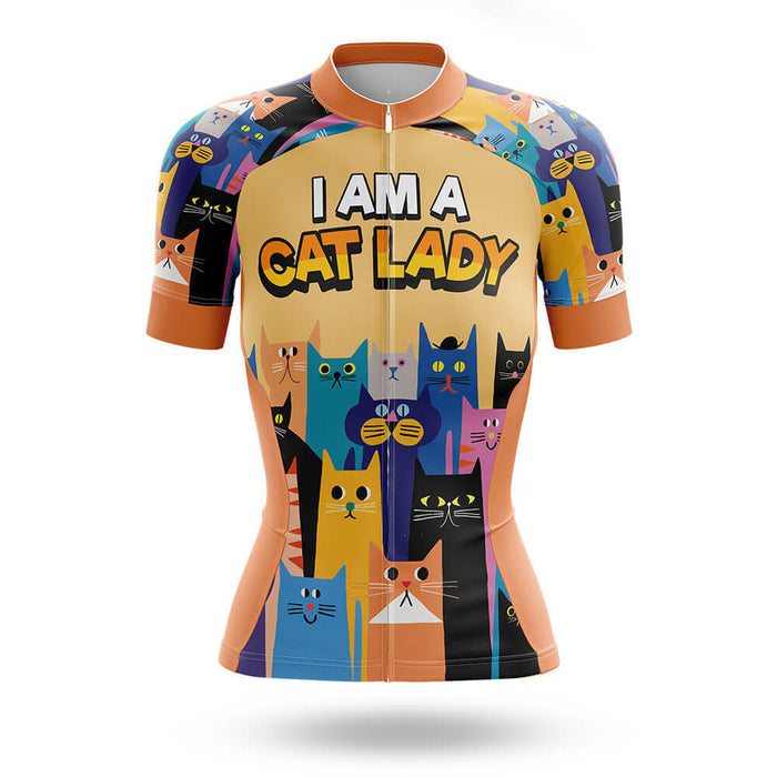 I Am A Cat Lady - Cycling Kit - Global Cycling Gear