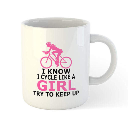 Girl Mug - Global Cycling Gear