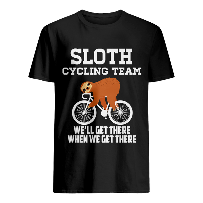 Sloth Cycling Team T-Shirt - Global Cycling Gear