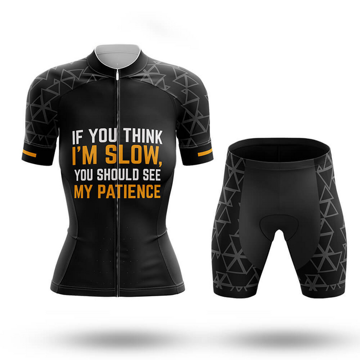 I'm slow - Women's  Cycling Kit - Global Cycling Gear