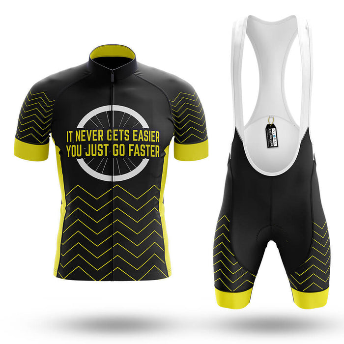 It Never Gets Easier - Men's Cycling Kit - Global Cycling Gear