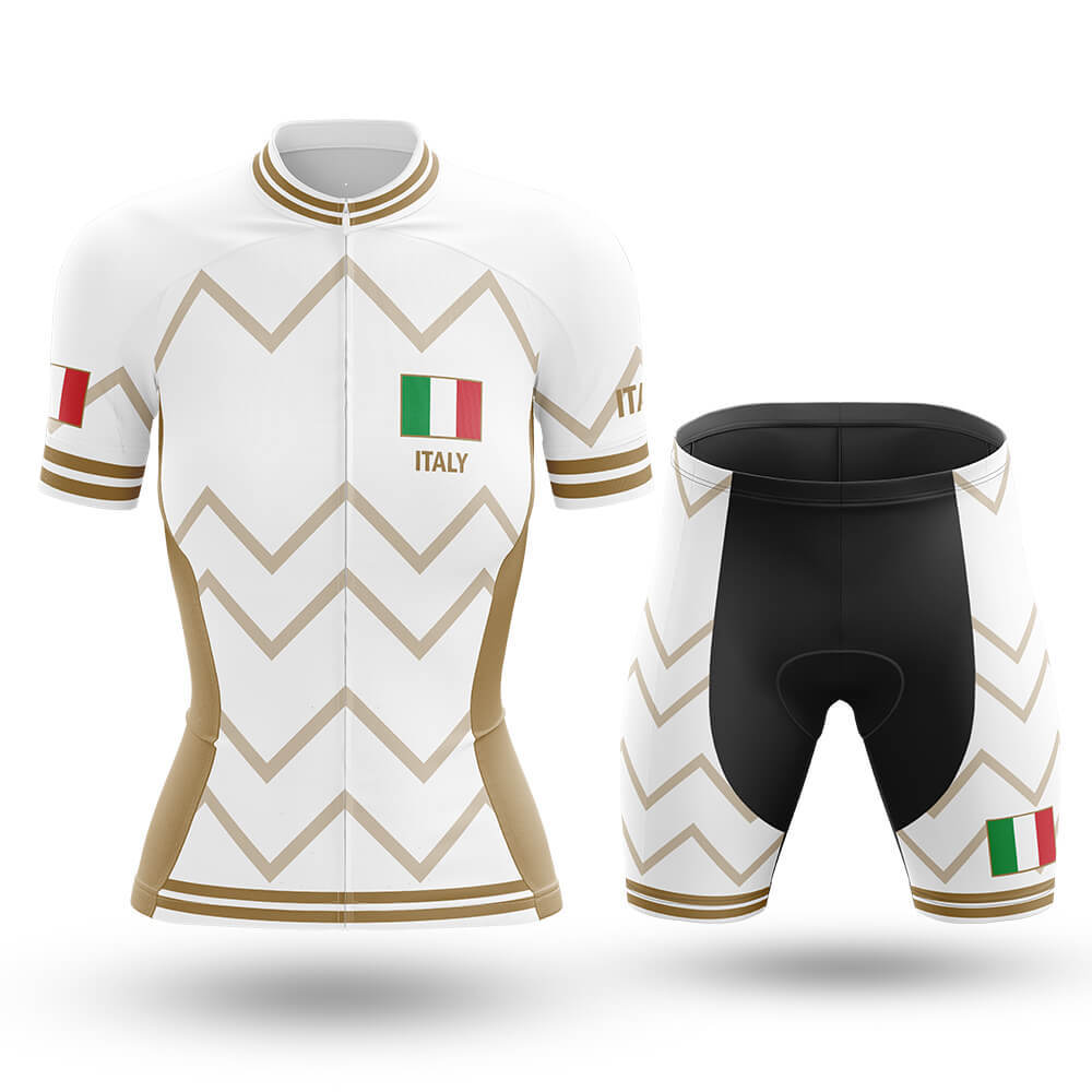 Italy - Women V17 - White - Global Cycling Gear