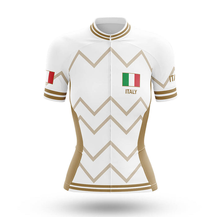 Italy - Women V17 - White - Cycling Kit - Global Cycling Gear