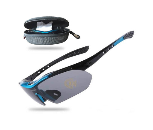 Cool Cycling Sunglasses - Blue - Global Cycling Gear