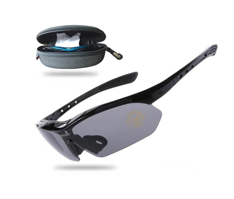 Cool Cycling Sunglasses - Black - Global Cycling Gear