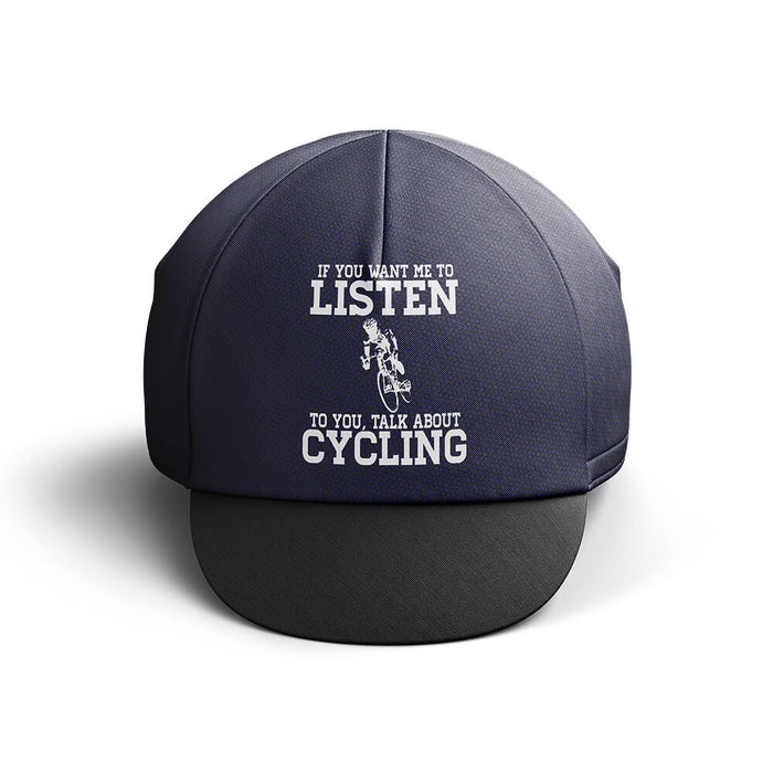 Talk About Cycling Cap - Global Cycling Gear