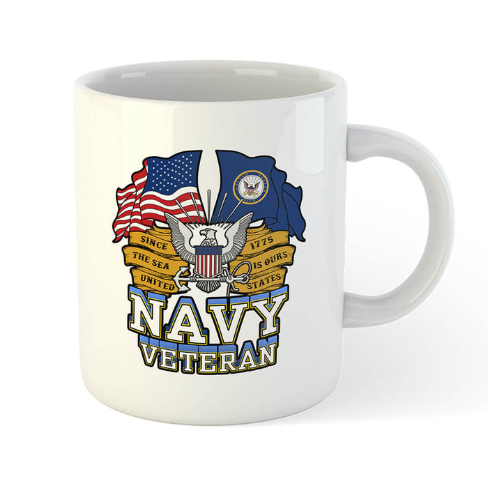 U.S. Navy Veteran Mug - Global Cycling Gear