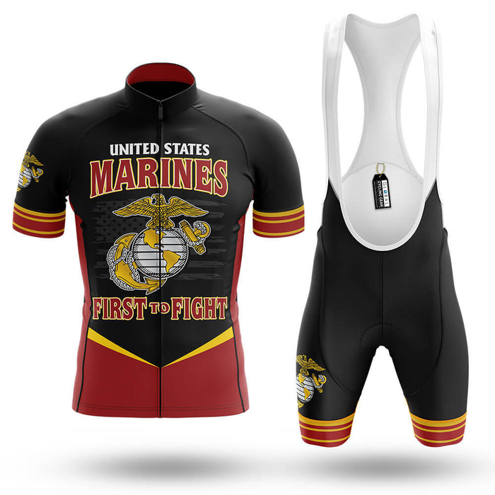 U.S Marine Corps V4 - Men's Cycling Kit - Global Cycling Gear