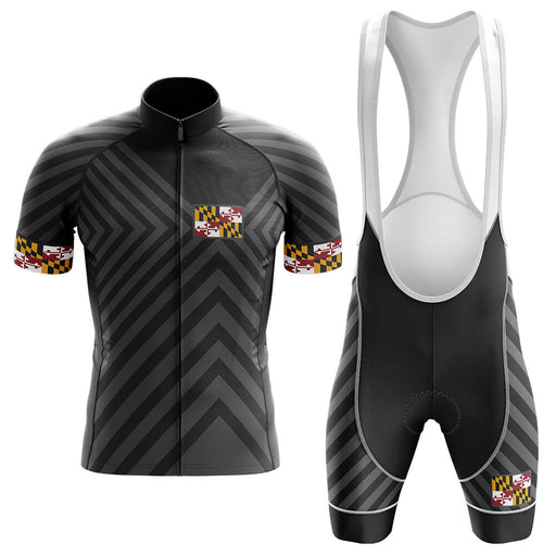 Maryland V13 - Black - Men's Cycling Kit - Global Cycling Gear