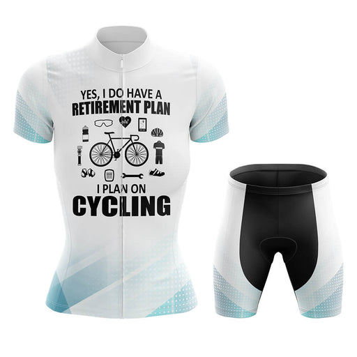 Retirement Plan - Women V2 - Cycling Kit - Global Cycling Gear