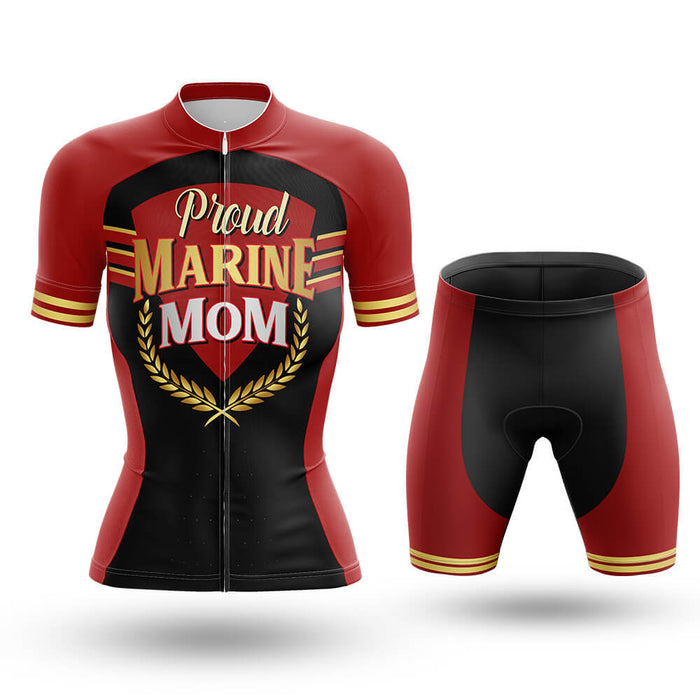 Proud Marine Mom - Cycling Kit - Global Cycling Gear