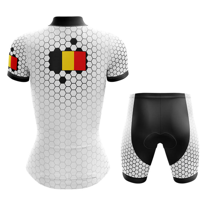 Belgium - Women V5 - Cycling Kit - Global Cycling Gear