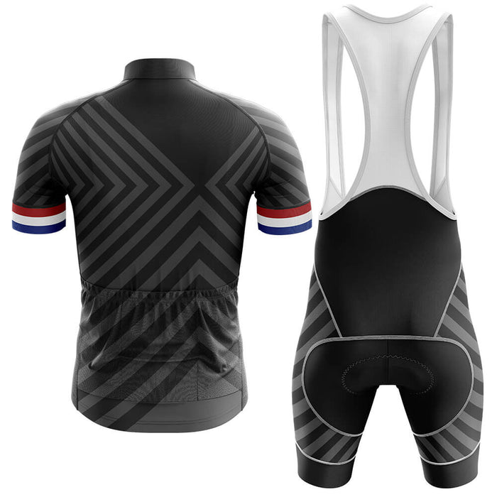 Netherlands V13 - Black - Men's Cycling Kit - Global Cycling Gear