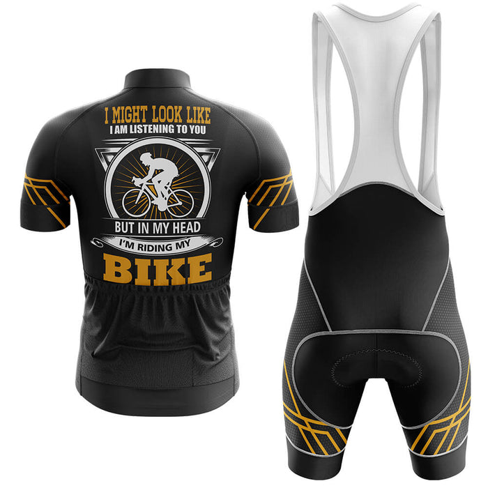 In My Head Men's Cycling Kit - Global Cycling Gear