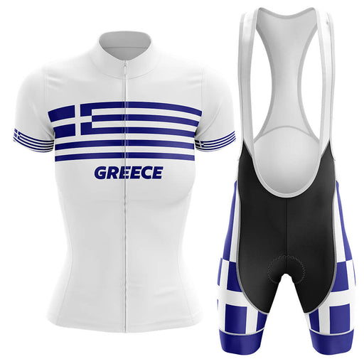 Greece - Women V4 - Cycling Kit - Global Cycling Gear