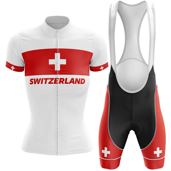 Switzerland - Women V4 - Cycling Kit - Global Cycling Gear