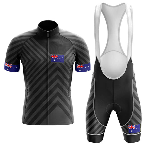 Australia V13 - Black - Men's Cycling Kit - Global Cycling Gear