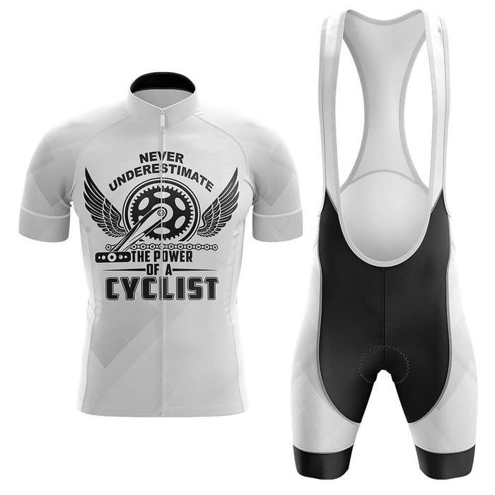 The Power Of A Cyclist - Men's Cycling Kit - Global Cycling Gear