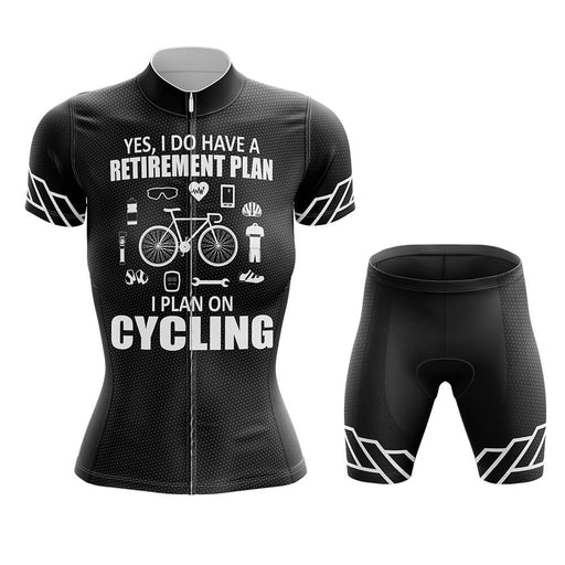 Retirement Plan - Women - Cycling Kit - Global Cycling Gear